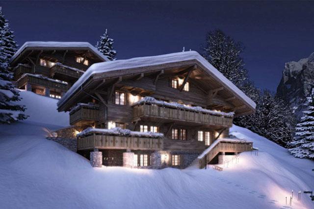 Альпийские шале.
