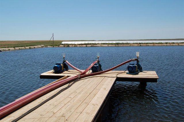 Водозабор из открытого источника (река или озеро) для сезонного проживания